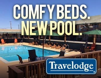 Comfy beds. New pool. Travelodge
