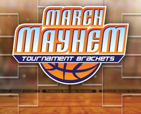March Mayhem Tournament Brackets