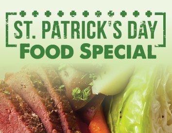 St. Patrick's Day Food Special